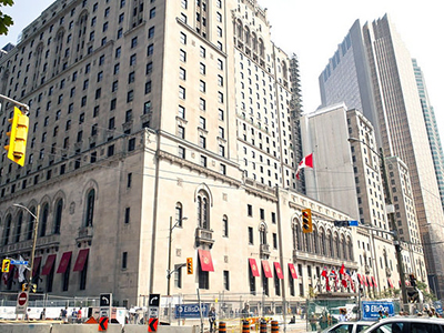 会場となったFairmont Royal York Hotel